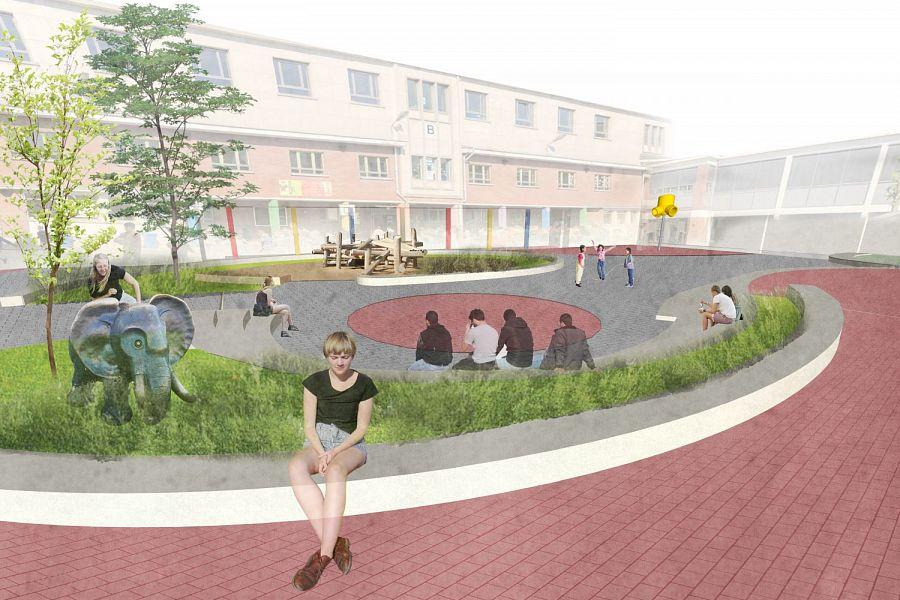 Playground school - Ninove