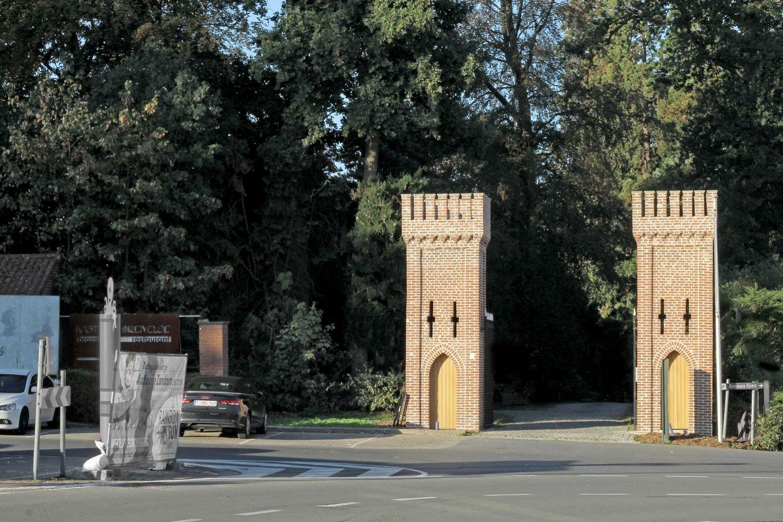 Entrance Breivelde park - Grotenberge