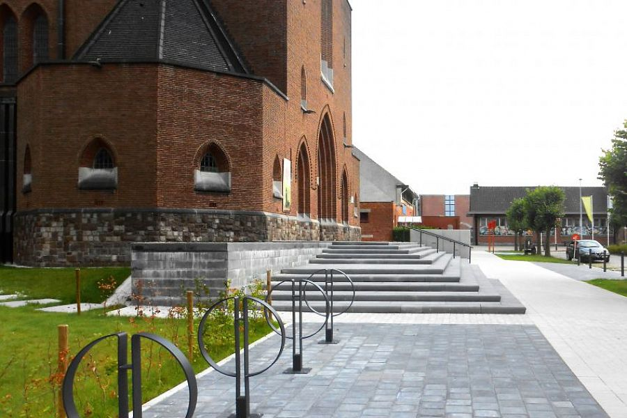 Evnironmental planning church Bevegem - Bevegem