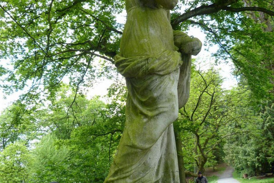 Statue Breivelde Park - Park van breivelde